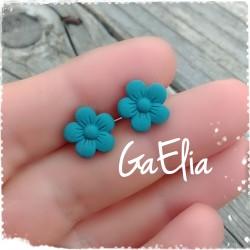 Boucles d'oreilles fleurs...