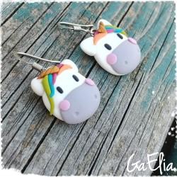 Boucles d'oreilles enfant -...